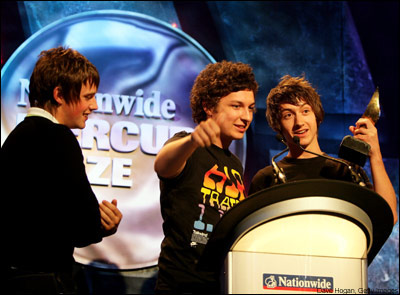 Receiving the Mercury Prize